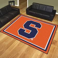 Grey And Orange Area Rug Area Rugs Awesome Syracuse University Orange Nylon Plush Carpet