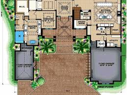 100 one story mansion floor plans great small one story