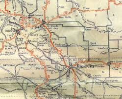 south dakota road map the unofficial south dakota highways page highways 1 to 30