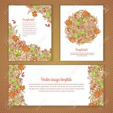 Designs For Invitation Card Three Invitation Card Design With Italian Pasta Illustration