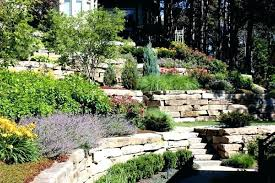 Small Sloped Garden Design Ideas Landscaping Ideas For Sloping Gardens Swebdesign