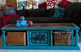 chalk paint coffee table make the best of things turquoise chalk paint coffee table