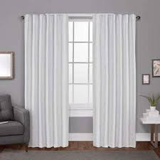 And White Curtains White Curtains Drapes Window Treatments The Home Depot