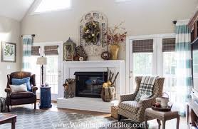 Budget Friendly Window Treatments For The Family Room Worthing Court - Family room window treatments