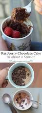 simple and easy raspberry chocolate cake in about a minute