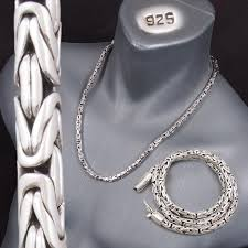 round necklace clasp images 6mm round bali byzantine 925 sterling solid silver mens necklace jpg
