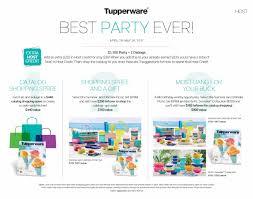 anniversary month specials at tupperware allsales ca