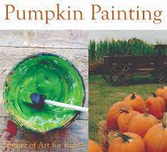 pumpkin painting art activity for kids toddlers crafts earth