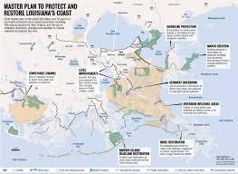 State Map Of Louisiana by Louisiana Coastal Restoration 50 Year Blueprint Released Nola Com