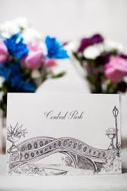 themed table numbers new york deco themed wedding table numbers by 43dpi