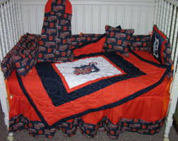 Detroit Tigers Crib Bedding Etsy Your Place To Buy And Sell All Things Handmade