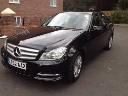 2012 62 mercedes benz c class 2 1 c200 cdi se executive black