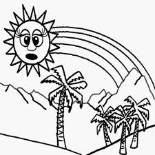 tropical beach coloring pages lets coloring book planets and space