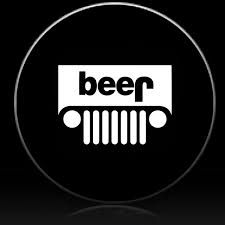 Jeep Beer Spare Tire Cover Custom Tire Covers