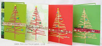 balzer designs christmas tree pop up cards