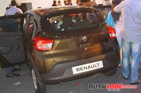 renault kwid black colour 2015 renault kwid suv unveiled in india