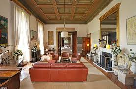 living room in mansion francis convery u0027s country mansion in scotland with eighty rooms on