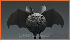 Crafts For Kids For Halloween - a halloween bat craft for kids they u0027re kind of cute crafts u0027n