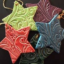 technique glazed salt dough ornaments salt dough
