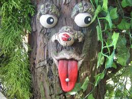 23 best tree faces images on tree faces garden