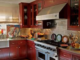 Kitchen Backsplash Ideas For Dark Cabinets Backsplash For Dark Cabinets And Light Countertops White Oak Cabis