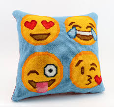 fun emoji gifts for kids and kids at heart needlepoint kits