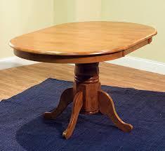 Oak Pedestal Table Farmhouse Table Tms Incorporated 69407