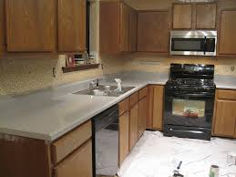 Paint For Kitchen Countertops Rustoleum Painted Countertops And Floors Months Later U2013 The Ugly