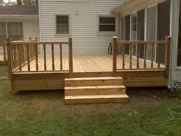 simple wood simple wood deck designs home design ideas