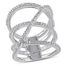 highway wedding band cross rings for less overstock