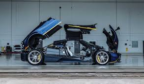 custom pagani blue argentina pagani huayra goes under the hammer at amelia