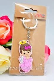 baby keychains 12 baptism keychains favors christening gifts boy girl baby mi