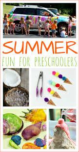 summer activities for preschoolers fun a day