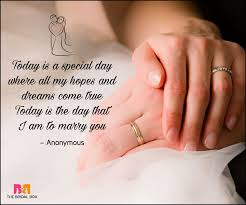 wedding quotes ring 25 serious wedding quotes you can use for your wedding vows