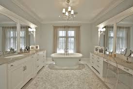 Tempting White Marble Bathroom
