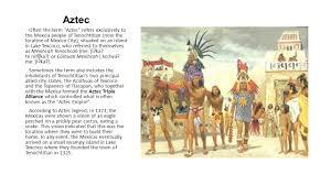 Aztec Mayan Inca Map Aztec Incan And Mayan People Ppt Video Online Download