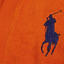 robe de chambre ralph acheter ralph home peignoir big polo pony orange amara