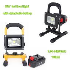10w rechargeable flood light aliexpress com buy 10w rechargeable led floodlight portable