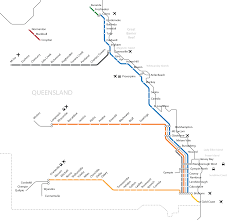 Map Of Queensland Network Map