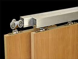 Barn Door Hardware Track System by Sliding Bypass Door Hardware Saudireiki