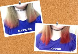 How Long To Wait Before Washing Hair After Coloring - how to dip dye your hair with kool aid 5 steps with pictures