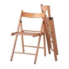 Ilea Chairs Terje Folding Chair Beech Ikea