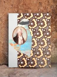 original collage mixed media oil paint wallpaper canvas paper art