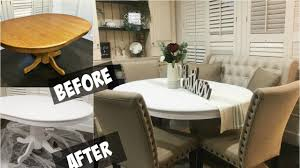 Paint Dining Room Table Diy Chalkboard Paint Dining Room Table