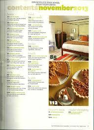 better homes and gardens november 2013 volume 91 number 11 table