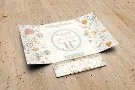 gatefold wedding invitation mockup graphicriver mock ups
