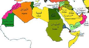 arab countries map process explore the arab world