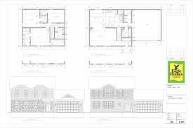 re draw and new single family detached house plans for 5 models