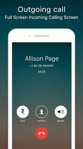 screen caller id apk free screen caller id apk for android