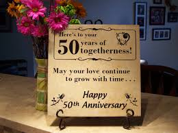 50 wedding anniversary personalized 50th anniversary gift o reilly tiles